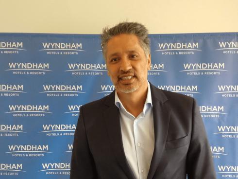 Alejandro Moreno, Presidente y CEO Latinoamérica y El Caribe, Wyndham Hotels and Resorts (Foto Orlando Gomez).