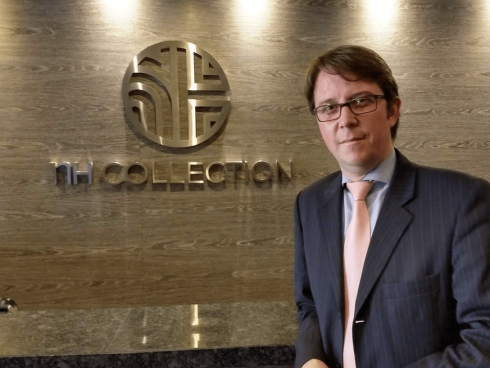 Juan Pablo Becker, Director General NH Collection Royal Terra 100 Bogota (Foto Orlando Gomez Camacho).