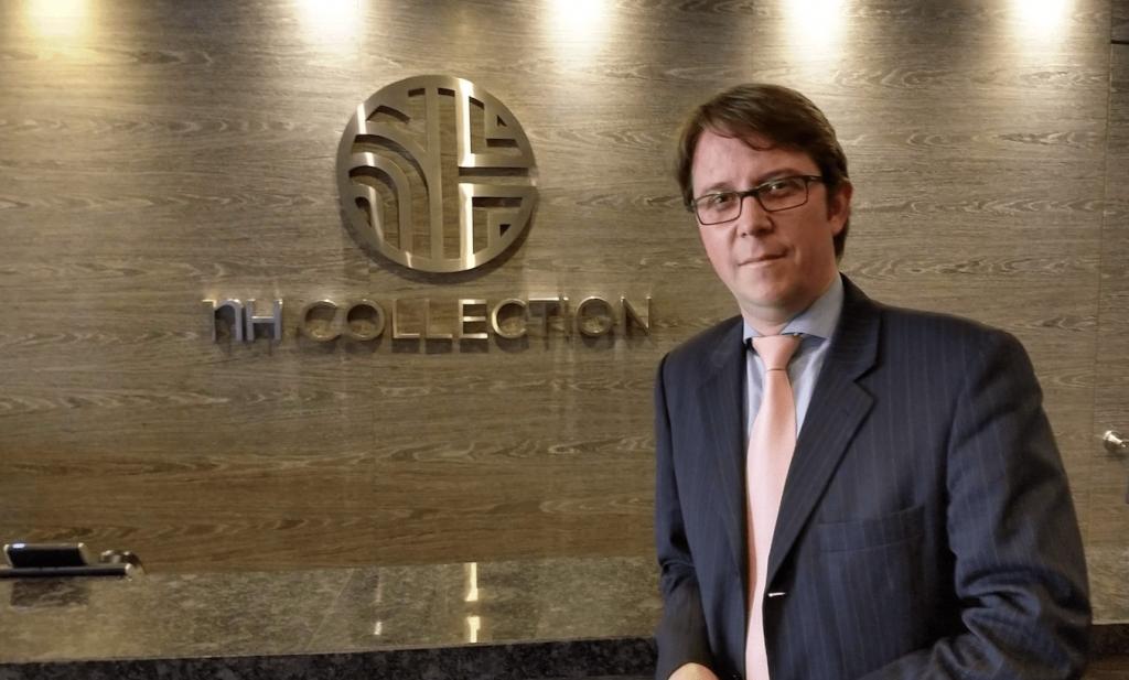 Juan Pablo Becker, Director, NH Collection Royal Terra 100 Bogota (Foto Orlando Gomez)