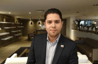 Chrystian De La Barrera, Director de Operaciones, Hilton Garden Inn Santa Marta (Foto Orlando Gomez Camacho)