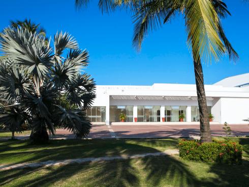 Vista exterior del Centro de Convenciones Hotel Las Américas (Foto Hotel Las Américas)