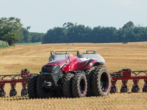Tractor autónomo de Case IH