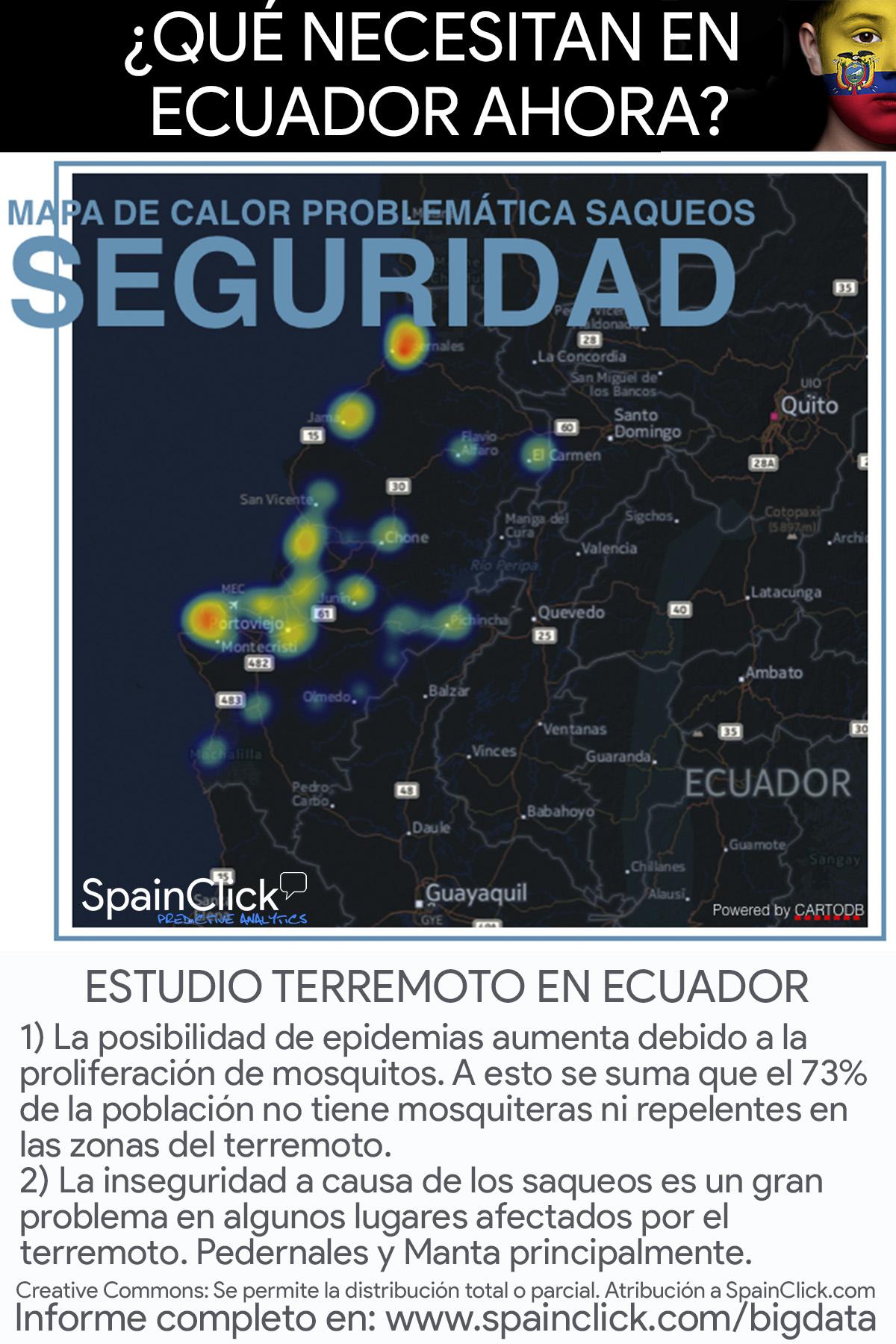 terremoto ecuador epidemias