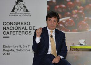 Roberto Vélez, gerente de la Federación Nacional de Cafeteros