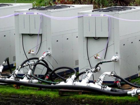 Unidades de refrigeración industrial