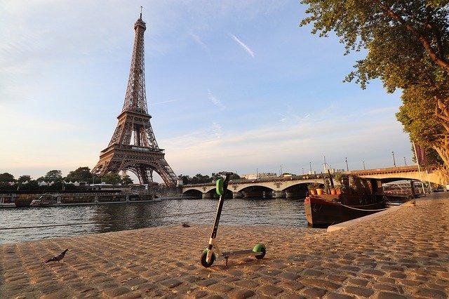 scooter en paris
