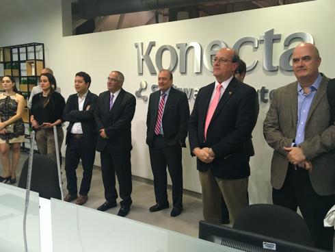 Acto de apertura de Konecta Software Factory