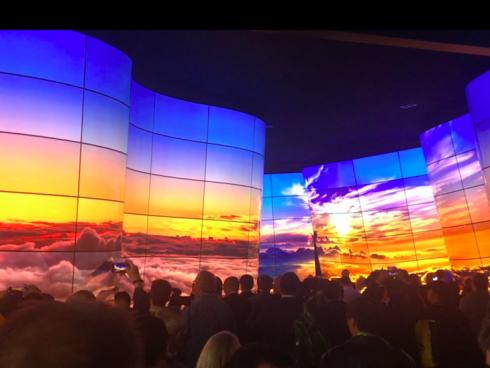 Miles de visitantes en el CES, en Las Vegas