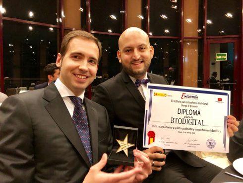 Premio en España a BTODigital