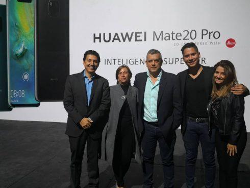Prensa de todo el país en el lanzamiento del Mate 20 Pro