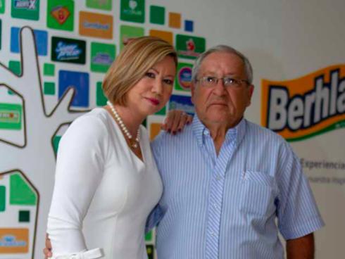 Amanda Alzate y Hernán Berrío, de Berhlan