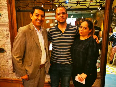 Jorge Henao y Camila López son los creadores del concepto