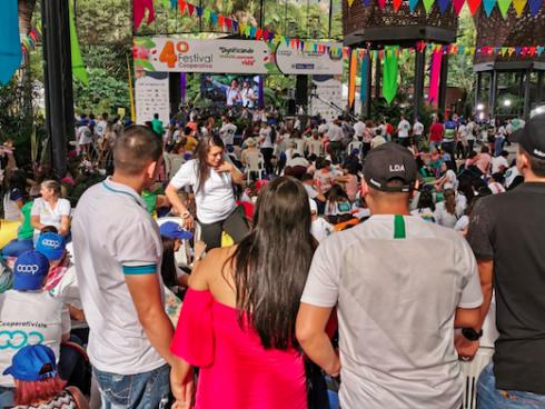Festival Cooperativo, organizado por Confecoop