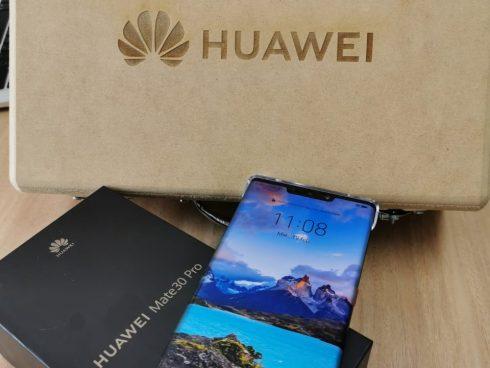 Este es el nuevo celular de Huawei, el Mate 30 Pro