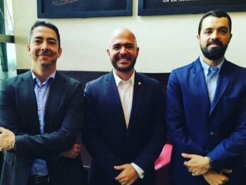 Estos son los lideres de Everfit, Juan David Mejía, Juan Gómez y Juan Sebastián Arango
