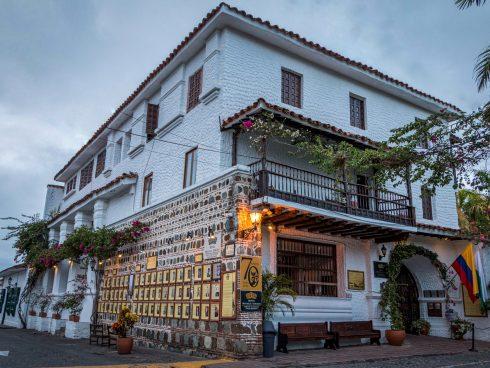 Este es el Hotel Mariscal Robledo, en Santa Fe de Antioquia