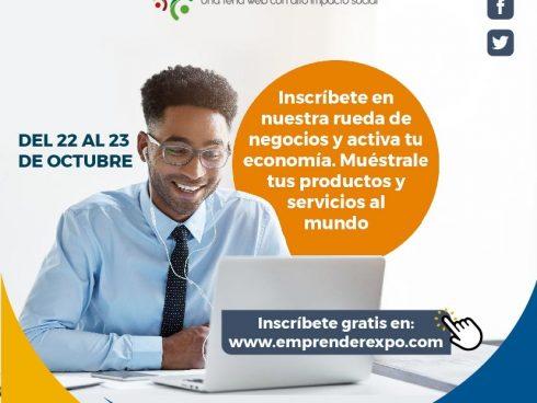 Bienvenidos de forma gratuita a la rueda de negocios de EmprenderExpo.