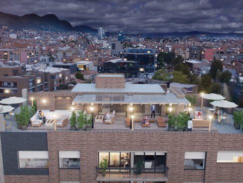 Tecnología que permite ver una versión virtual de una terraza