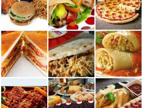 comidas rápidas