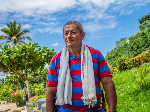 Pedro Beltrán, agricultor beneficiado con Mentes Fértiles.