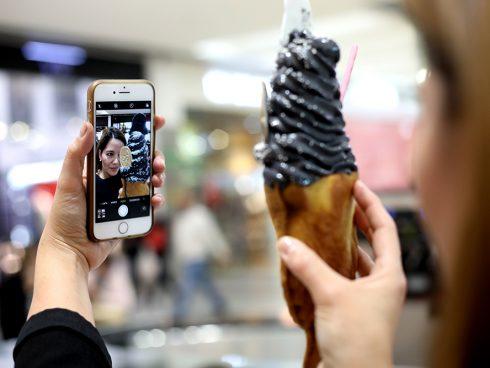 Ahora, además de ricos, saludables y originales, los helados son instagrameables, les presento el Taiyaki. Foto: Martín García/SomoSibaritas.