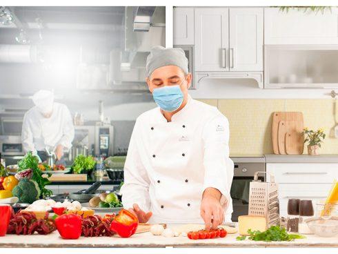 Cocineros en casa tiene un exigente protocolo biosanitario para garantizar la seguridad de cocineros y clientes. Foto: Archivo particular.