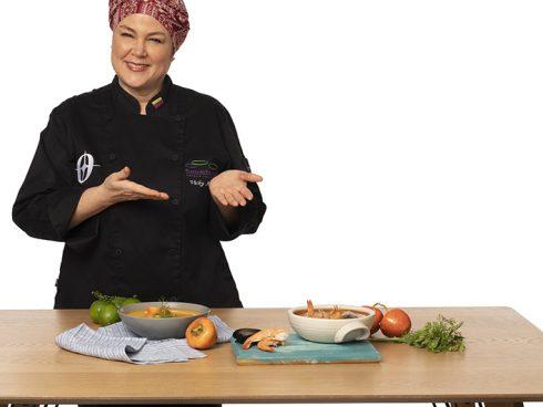 Chef Vicky Acosta, una de las jurados del reto Oster. Foto: Archivo particular.