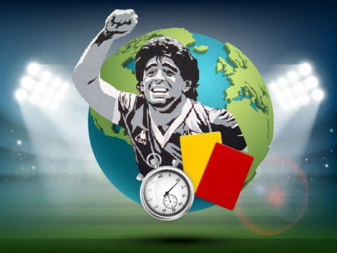 Maradona, una imagen eterna