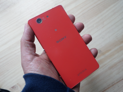 Sony Xperia Z3 Compact (Foto: Orlando Gómez Camacho).