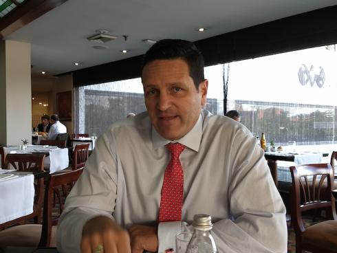 Andrés Sánchez, CEO, Identidad IoT (Foto Orlando Gomez Camacho).