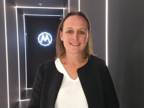 Carolina Prieto, Country Manager Colombia de Motorola.