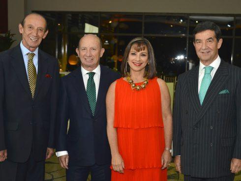 Juan Manuel Morales, Mauricio Morales, Pilar Morales, Alejandro Morales, Directivos de GMH