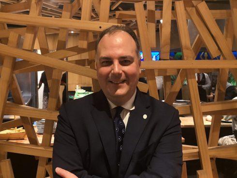 Rodrigo Tsutsumi, Regional Director Latin America, Preferred Hotels and Resorts. (FOTO Orlando Gómez Camacho).