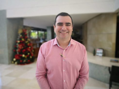 Jorge Michaels, Gerente General, Sonesta Cartagena (Foto Orlando Gomez Camacho).
