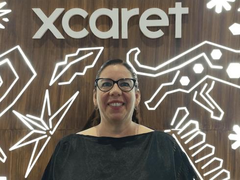 Iliana Rodriguez, Directora de Comunicación y Sostenibilidad, Grupo Xcaret (Foto Orlando Gómez Camacho).