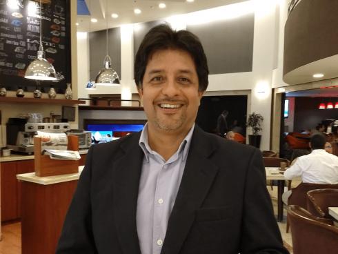 Juan Rodriguez Medina, Chief Marketing Officer, GHL Hoteles (Foto Orlando Gomez Camacho)