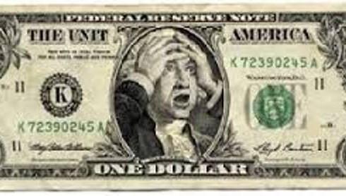 Dolar, Asustado